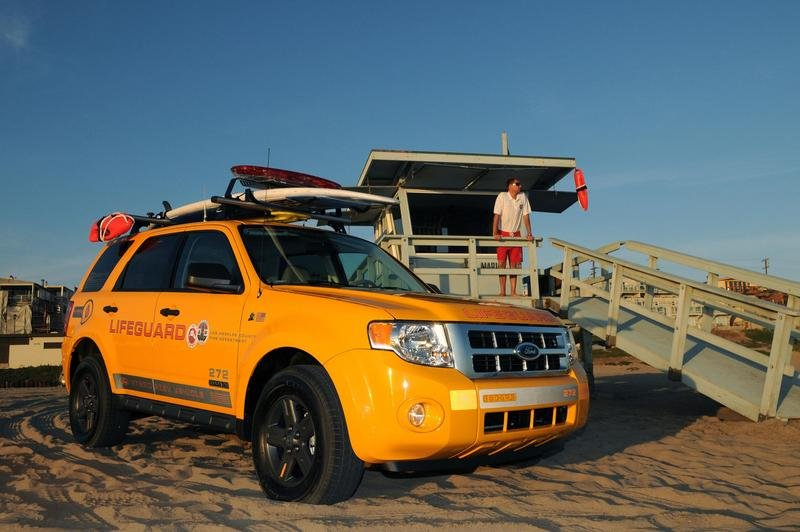 2008 Ford Escape Hybrid Lifeguard Vehicles