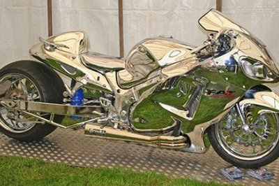 Fully Chromed Hayabusa