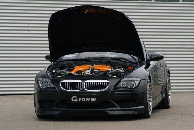 G-Power M6 Hurricane based on the Bmw M6 - image 248259