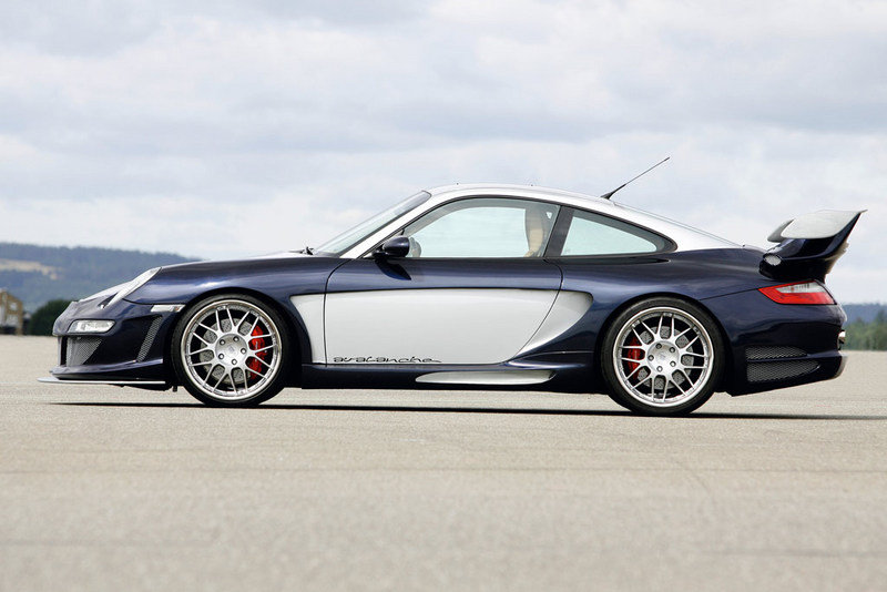 Gemballa Avalanche 600 GT2 EVO based on the Porsche 997 Turbo - image 247937