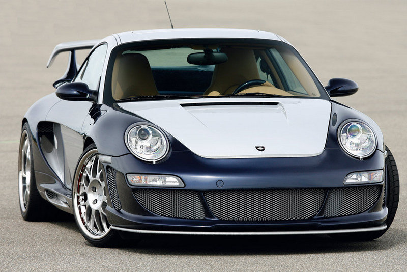Gemballa Avalanche 600 GT2 EVO based on the Porsche 997 Turbo