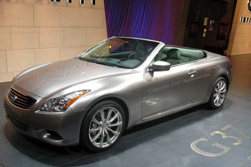 Infiniti G37 Convertible confirmed