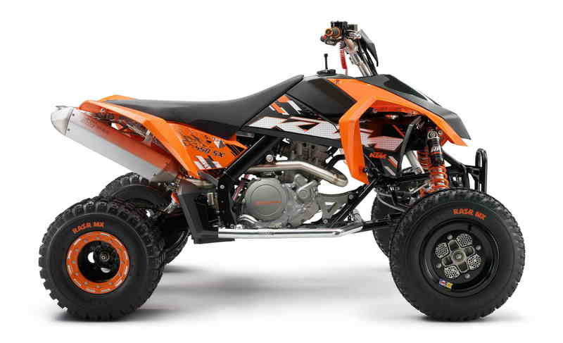 KTM's SX ATV introduced at Spain' biggest Motorcycle Fair