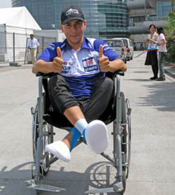 lorenzo is fastly recovering picture