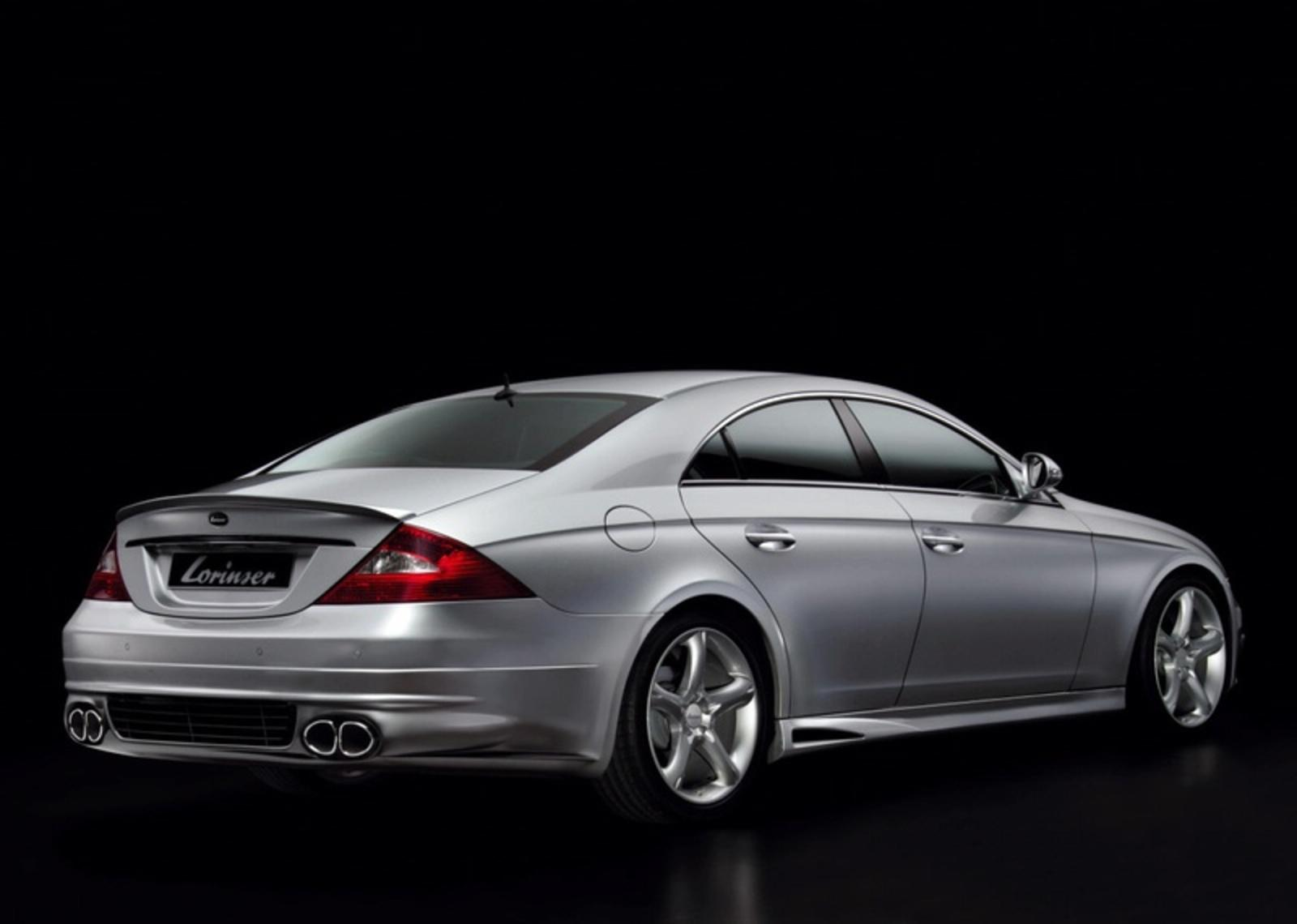 lorinser cls l 55 rs based on the mercedes cls news gallery top speed. Black Bedroom Furniture Sets. Home Design Ideas