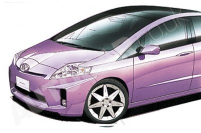 New Toyota Prius to debut at 2009 Detroit Auto Show