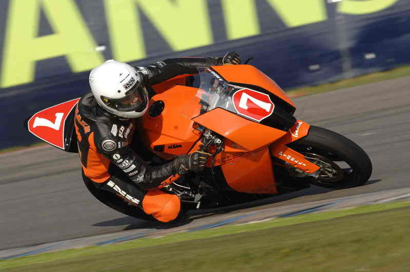 Rene Maehr: It's a real honour to ride the RC8