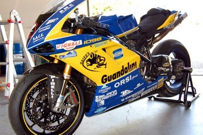 Team Guandalini posts a Ducati 1098 R WSTK for sale