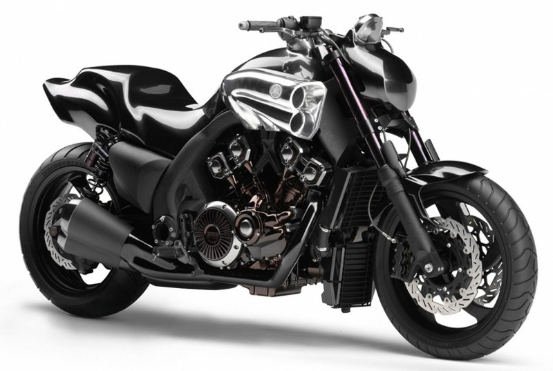 The new 2009 Yamaha V-Max is about to be unveiled