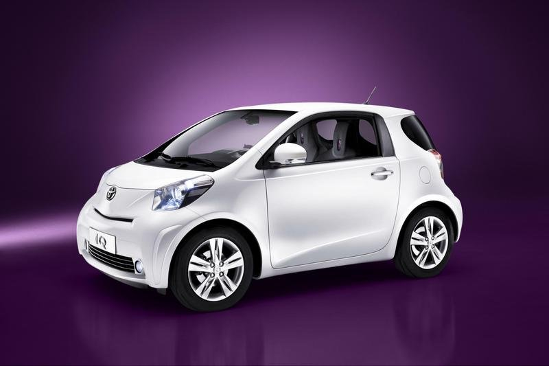 Toyota iQ - the basis for larger car?