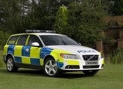 Volvo V70 2.5 FlexiFuel Turbo police car