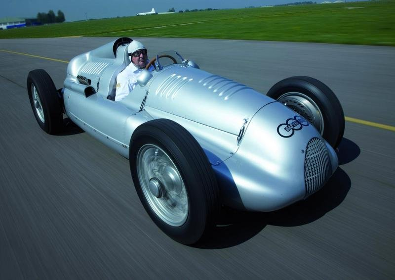 1939 Auto Union type D at Goodwood Festival of Speed