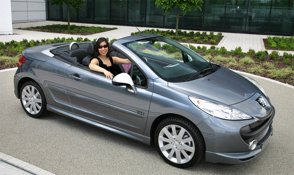 2008 peugeot 207 cc elle car review top speed. Black Bedroom Furniture Sets. Home Design Ideas