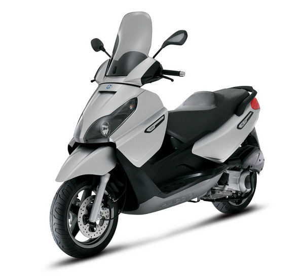 2008 piaggio x7 review - top speed