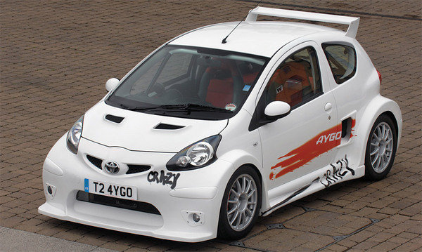 2008 toyota aygo crazy car review top speed. Black Bedroom Furniture Sets. Home Design Ideas