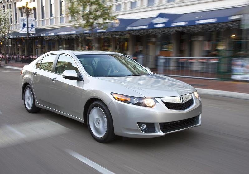 2009 Acura TSX - Top safety pick