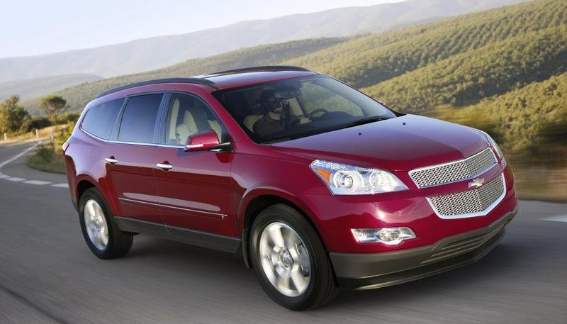 2009 Chevrolet Traverse - pricing announced