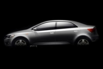 2009 Kia Forte first official sketch