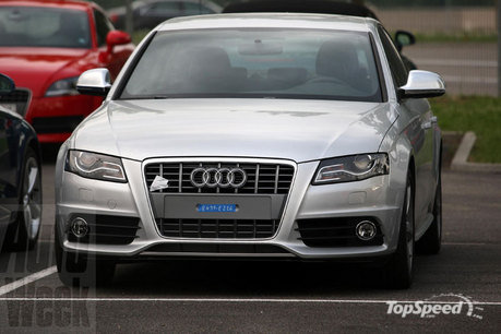 audi s4 wallpapers. 2010 audi s4 caught testing