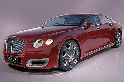 2010 Bentley Arnage renderings
