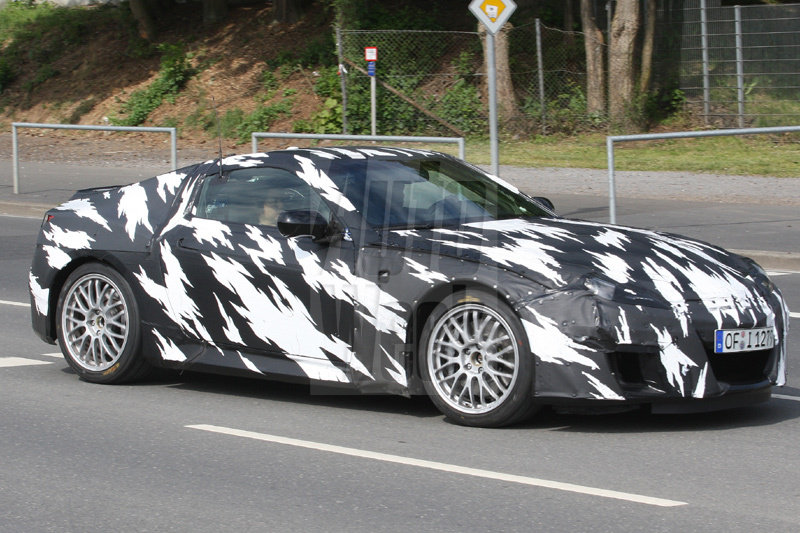 2011 Acura NSX spy shots