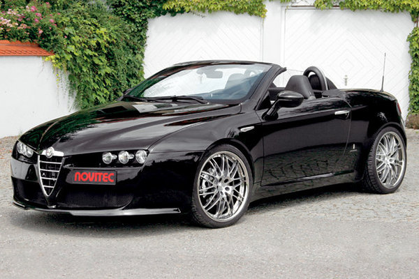 alfa romeo spider by novitec news top speed. Black Bedroom Furniture Sets. Home Design Ideas