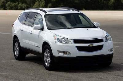 Chevrolet Traverse offers better fuel efficiency