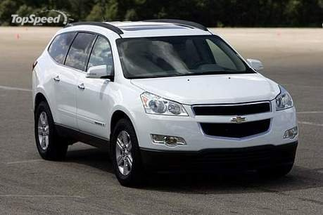 Chevrolet Traverse Nice view