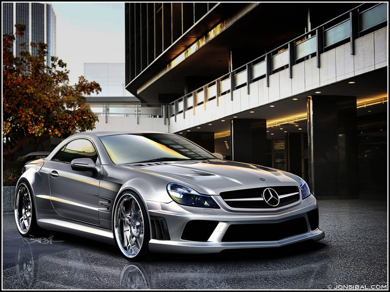 Fantastic renderings of the SL65 AMG Black Series and CLC Convertible