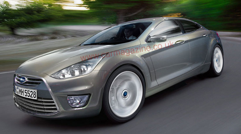 Ford Mondeo Coupe renderings