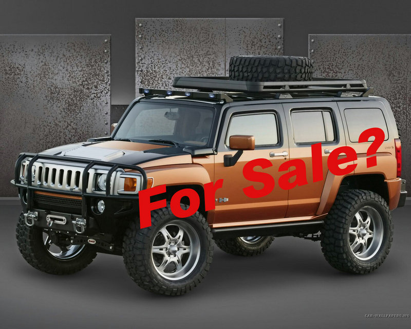 GM's SUV in danger? HUMMER could be sold!