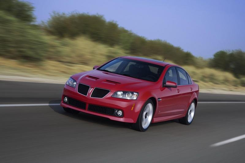 GM will increase pricing for the 2009 G8 GT