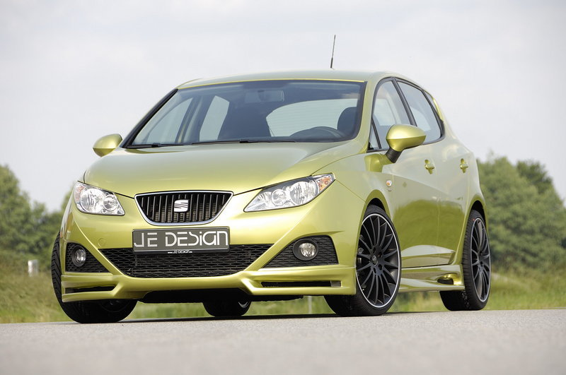 JE Design unveils customized Seat Ibiza