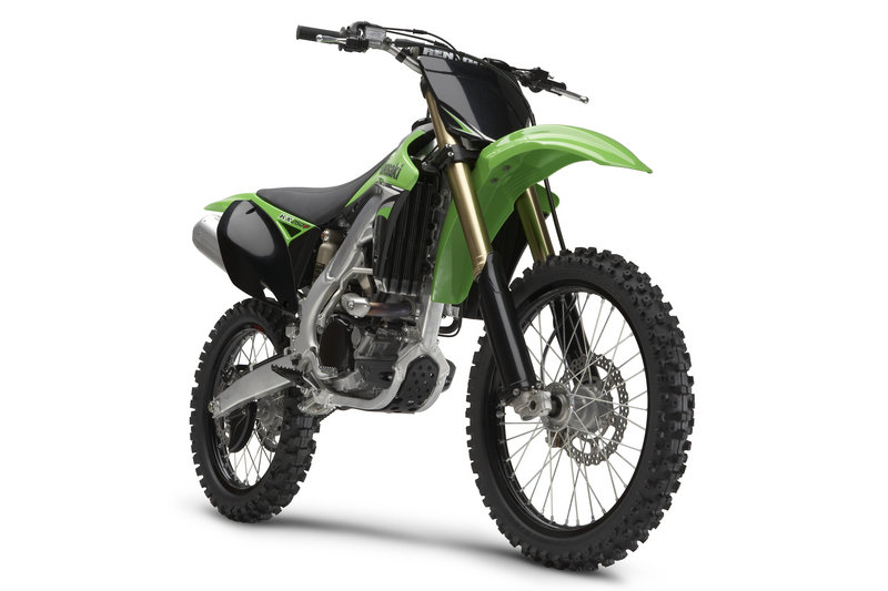 Kawasaki introduces the 2009 KX450F and KX250F motocrossers