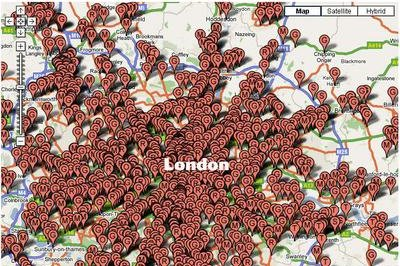 London under the ... speed cameras
