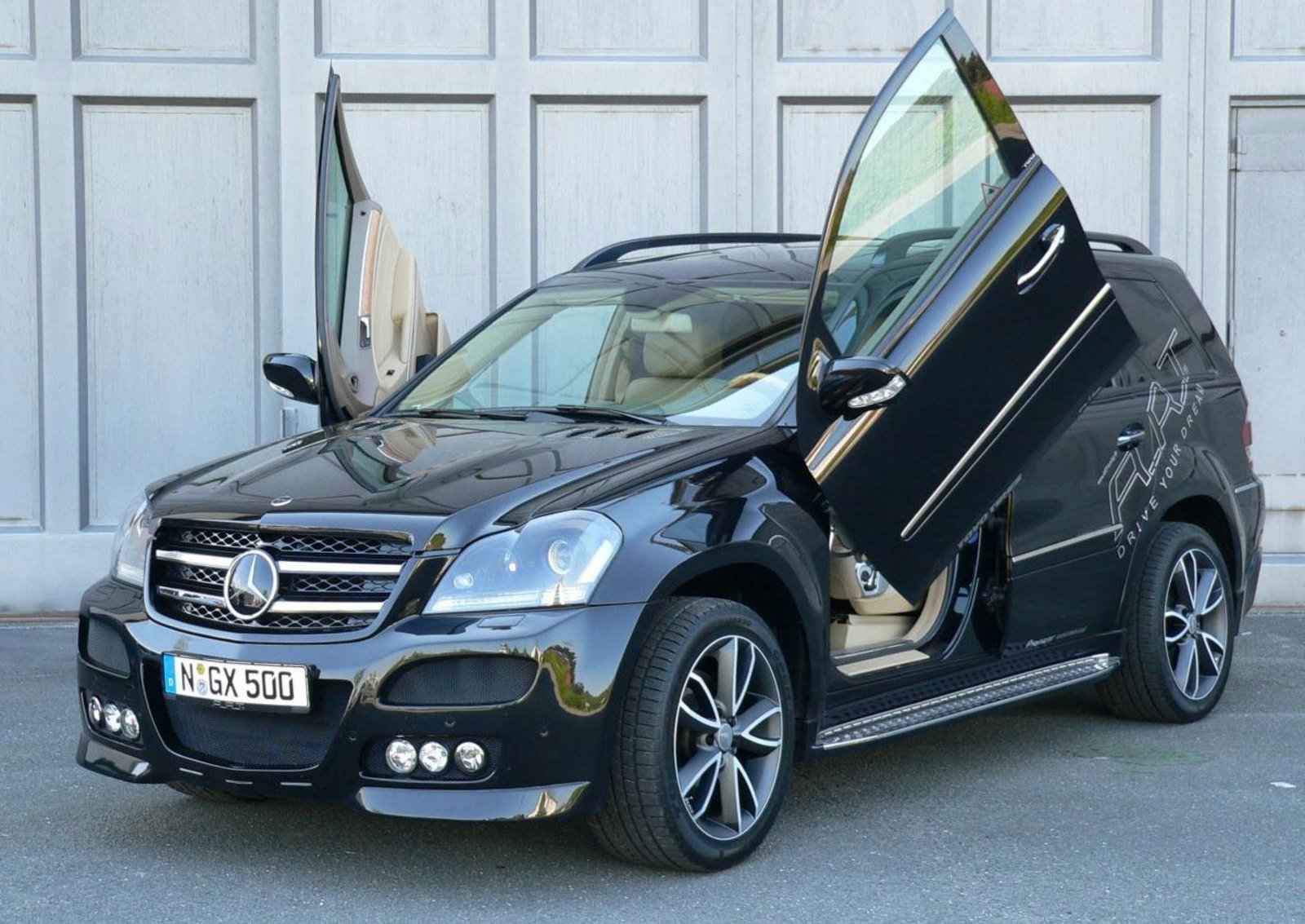 mercedes gl by art tuning news top speed. Black Bedroom Furniture Sets. Home Design Ideas