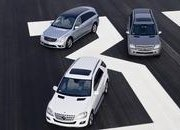 Mercedes R 320 BlueTEC, ML 320 BlueTEC and GL 320 BlueTEC