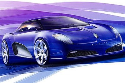 New Renault Alpine to be launched in 2011