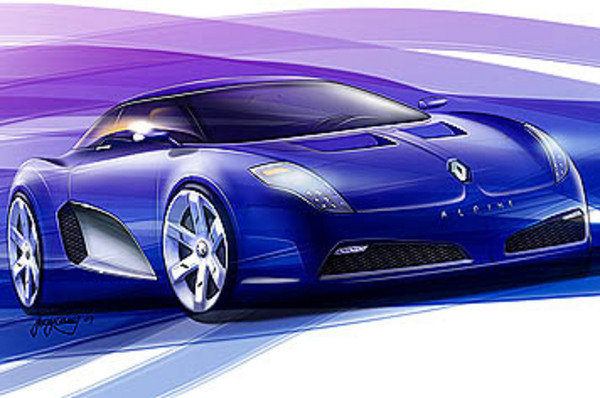 new renault alpine to be launched in 2011 picture
