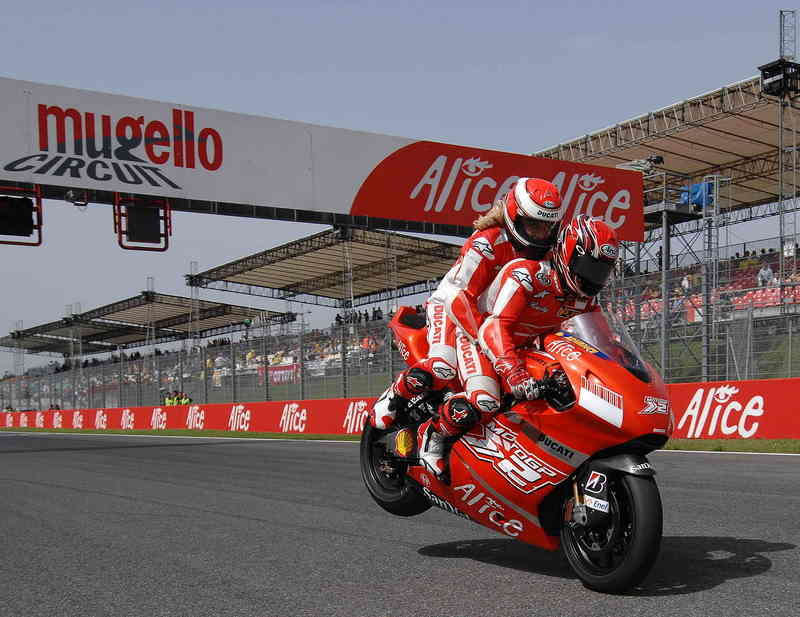 Stoner storms back to the podium at Mugello as Melandri's luck runs out again