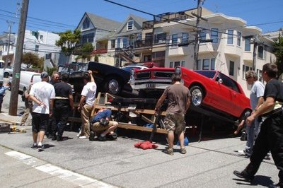 Video commercial wrecks a GTO in San Francisco