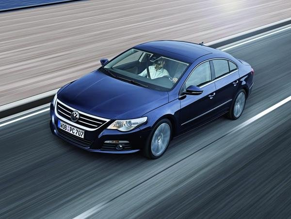 volkswagen passat cc - european pricing announced picture