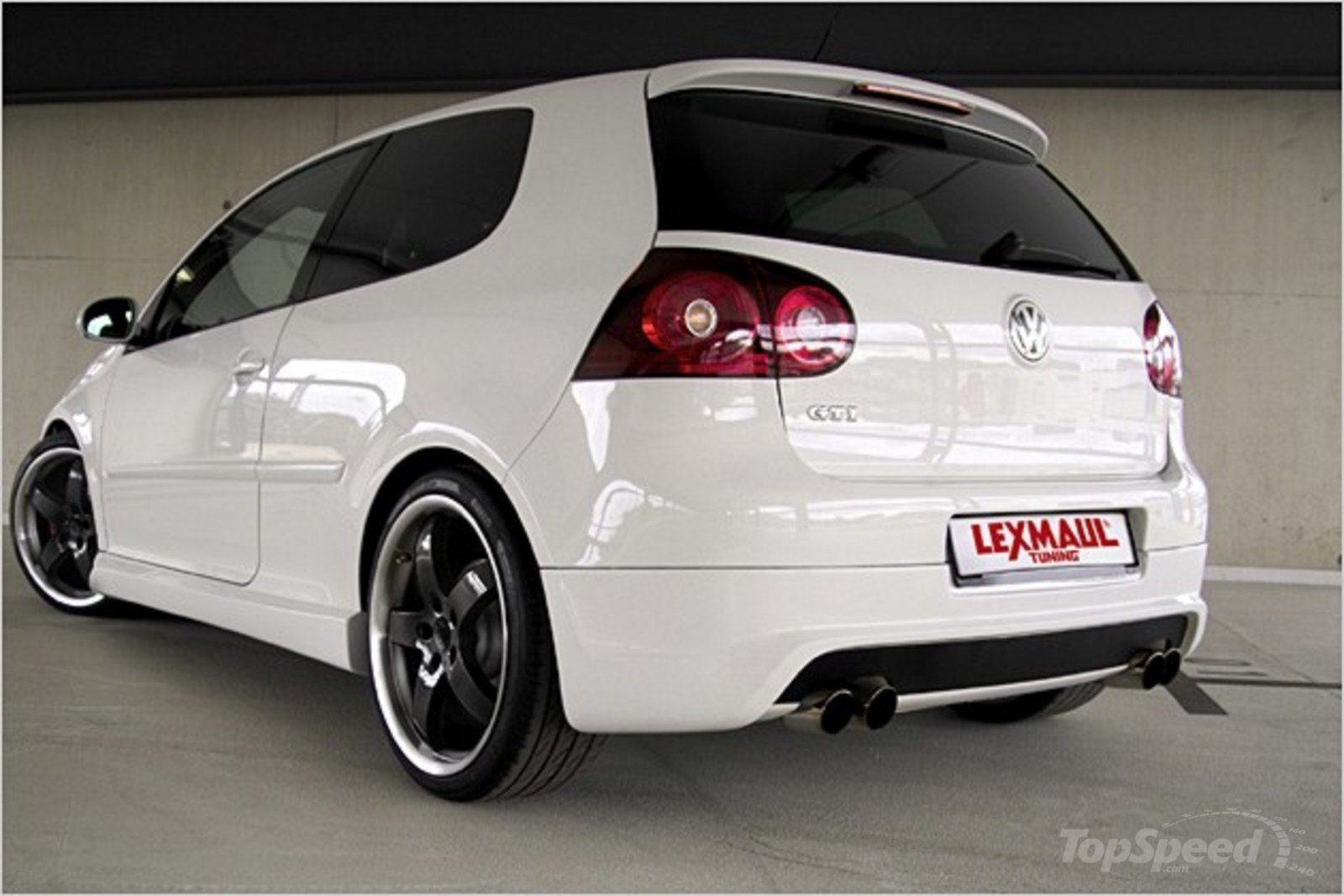 vw golf v gti by lexmaul tuning news top speed. Black Bedroom Furniture Sets. Home Design Ideas