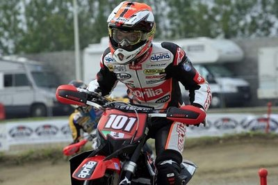 World Supermoto Championship: Van Den Bosch maintains his leadership in the S1