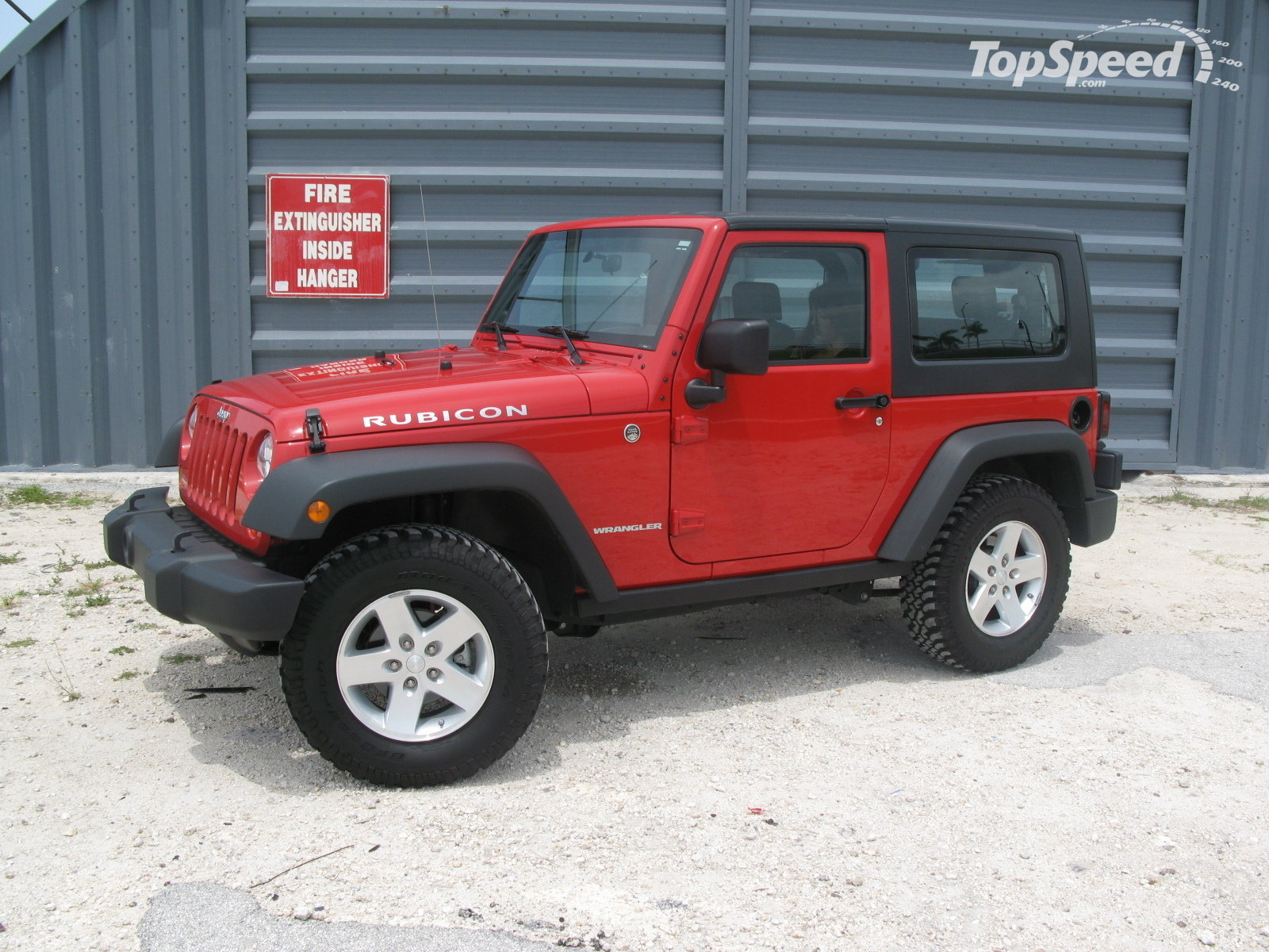 2008 jeep wrangler rubicon review - top speed