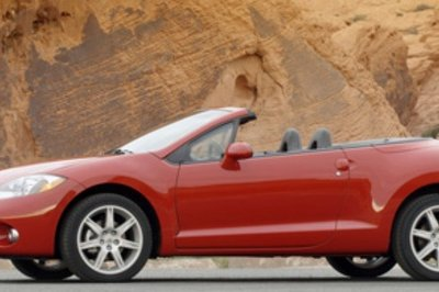 2008 Mitsubishi Eclipse Spider GT - most toxic new car smell