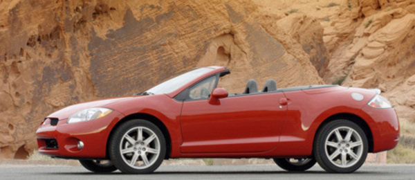 2008 mitsubishi eclipse spider gt - most toxic new car smell picture