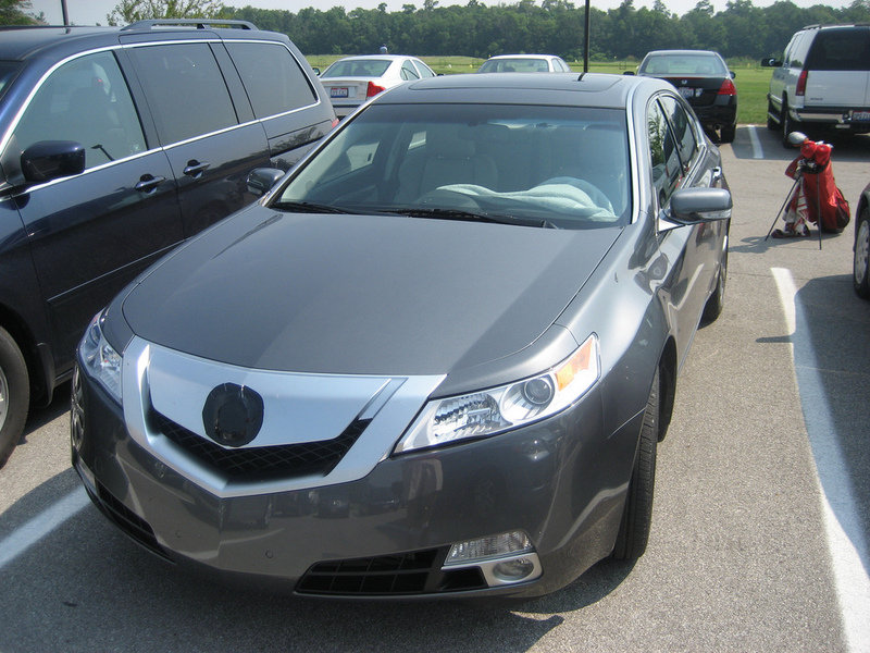 2009 Acura TL caught on the street