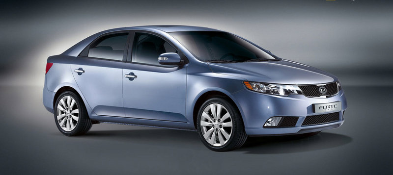2009 Kia Forte - first official images