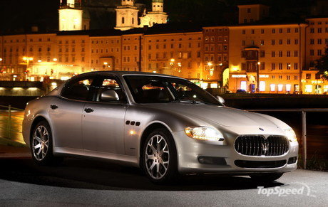 2009 maserati quattroporte s - european pricing announced